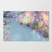 Kyoto light Canvas Print