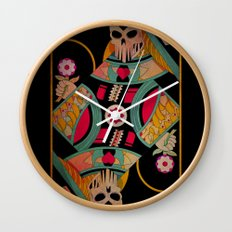 Death Queen Wall Clock