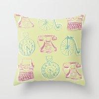 Girly Twist Steampunk In… Throw Pillow