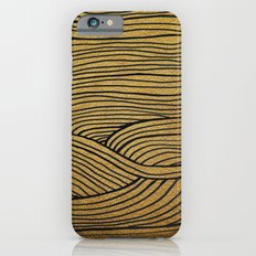 Wind Gold Black Slim Case iPhone 6s