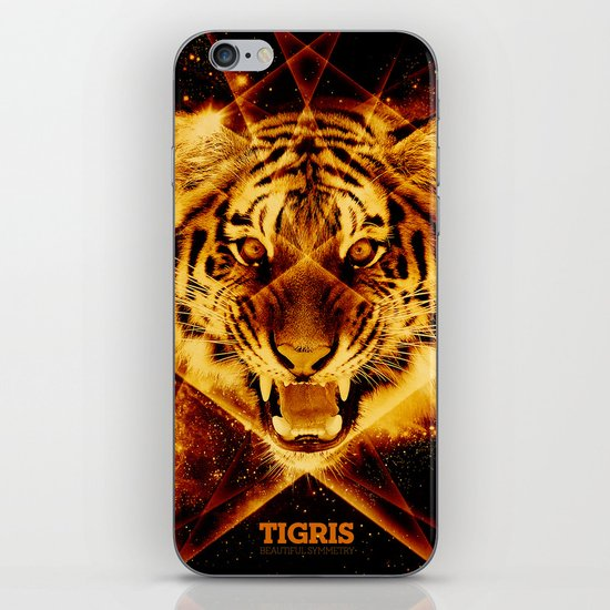 Tigris Beautiful Symmetry iPhone & iPod Skin