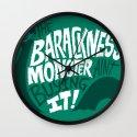 Barackness Monster Wall Clock