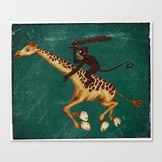 Run Through the Jungle Canvas Print
