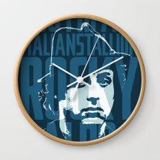Rocky Balboa Minimal Vector Film Poster Wall Clock