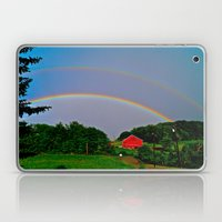 Rainbow x 2 Laptop & iPad Skin