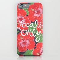 iPhone & iPod Case featuring Locals Only by Abby Mitchell