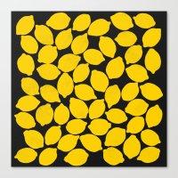 lemons 1 Canvas Print