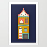 San Francisco Home Art Print