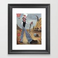 The Rising Sun Framed Art Print
