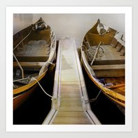 Side By Side- In The Sha… Art Print