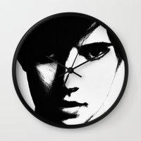 Slender Face Wall Clock