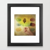 Once Upon A Time A Color… Framed Art Print