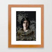 Dragon Tattoo Framed Art Print