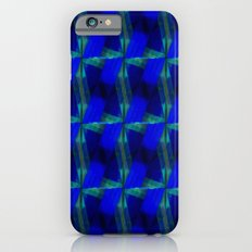 Allure Abstract Pattern Blue and Green iPhone 6 Slim Case