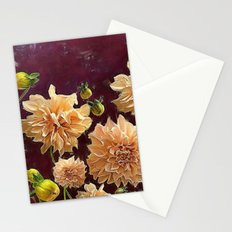 Autumn Dahlias Stationery Cards