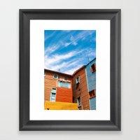 Colors At Caminito Framed Art Print