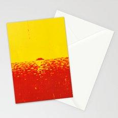 Sunset Pixels Stationery Cards