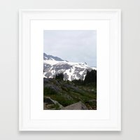 Washington Summer Framed Art Print
