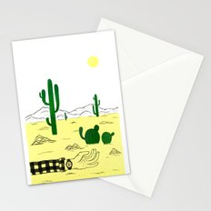 Man & Nature - The Desert Stationery Cards