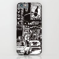 new york iPhone & iPod Cases featuring New York New York by Bianca Green