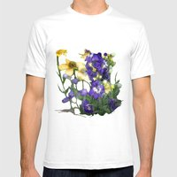 Wildflowers / Nature, Fl… Mens Fitted Tee White SMALL