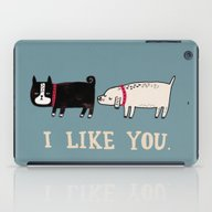 iPad Case featuring I Like You. by Gemma Correll