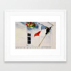 Fierté Acadienne Framed Art Print
