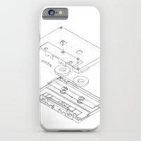 Exploded Cassette Tape  iPhone 6 Slim Case