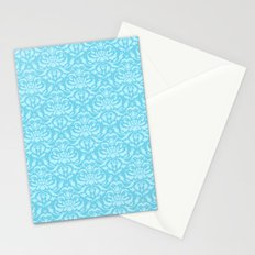 Cloud Factory Damask - Luna Bee Stationery Cards