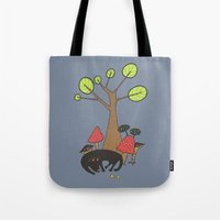 Let Sleeping Dogs Lie Tote Bag