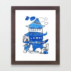 Chinese Palace Framed Art Print