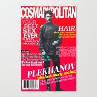 COSMARXPOLITAN, Issue 15 Canvas Print