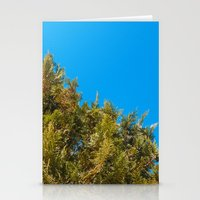 Green, Yellow And Blue, … Stationery Cards