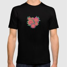 Rosa Mens Fitted Tee SMALL Black