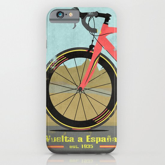 Vuelta a Espana Bike iPhone & iPod Case
