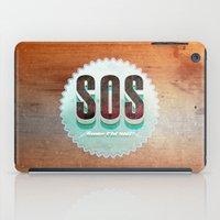 S O S iPad Case