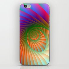 Spiral Shell iPhone & iPod Skin