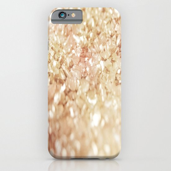 Pink and Gold Glitter  iPhone & iPod Case