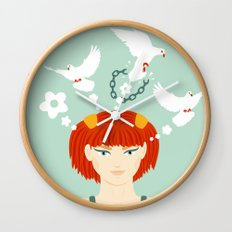 Mind Unchained Wall Clock