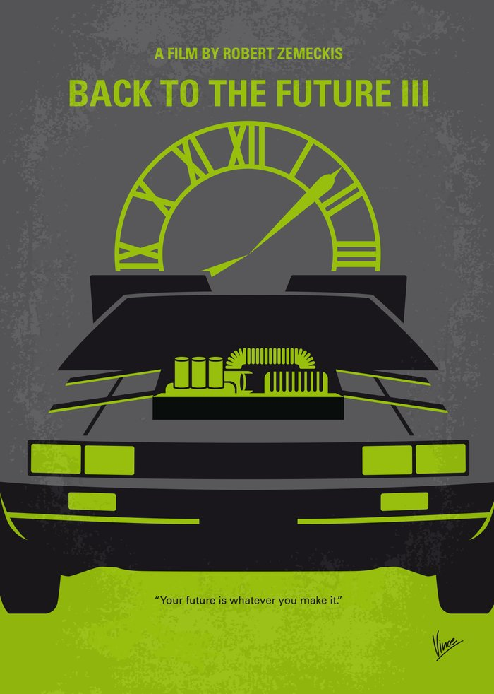 Back To The Future Part 3 Poster | www.imgkid.com - The ...
