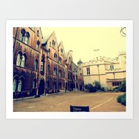 Beauty Of Oxford Art Print