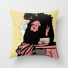 Black Magic #2 Throw Pillow