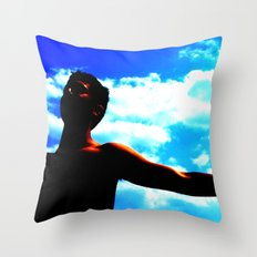 Holy Kev Throw Pillow