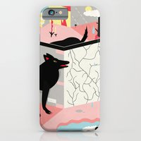 iPhone Cases featuring lost and found by Alba Blázquez
