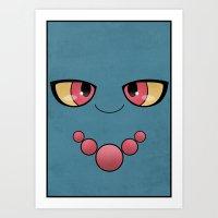 #200 Misdreavus - Pokemo… Art Print