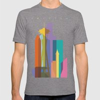 Shapes Of Seattle Accura… Mens Fitted Tee Tri-Grey SMALL