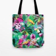 Exotic Vegetation Tote Bag