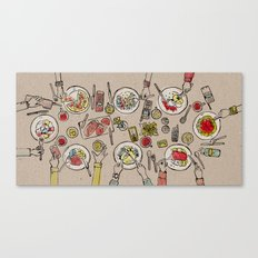 Generations Dinner Canvas Print