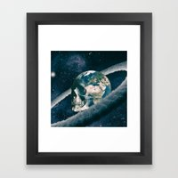 The Old Traveller Framed Art Print