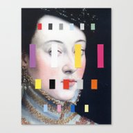 Portrait With A Spectrum… Canvas Print